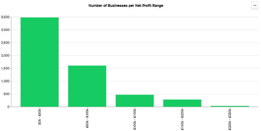 businesses by net profit